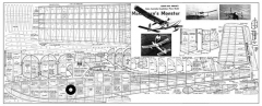 Custom Privateer model airplane plan